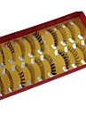 10 par Pro Hög kvalitet Hand Made Synthetic Fiber Hair Mix Olika Style Lösögonfransar