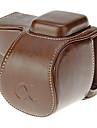 Sac-Une epaule-Appareil photo numerique-Universel Canon Nikon Olympus Sony-Etanche Resistant a la poussiere-Cafe
