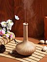 En forme de vase Nuit a LED humidificateur d\'air de fibre de bois de l\'huile essentielle Aroma Diffuseur pour la maison et le bureau