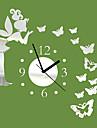 "20 ""Horloge H Modern Style Miroir Angle papillon"