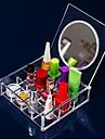 Rangement pour Maquillage Boite de maquillage / Rangement pour Maquillage Acrylique Couleur Pleine 14.8 x 15.0 x 4.6