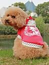 Câini Haine Albastru / Trandafiriu Îmbrăcăminte Câini Primăvara/toamnă Buline / Literă & Număr