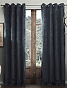 Two Panels Modern Solid As Per Picture Living Room Polyester Panel Curtains Drapes