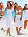 Women\'s Strapless Summer Beach Sexy Dress