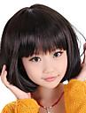 Capless Bob Haircut Style Children\'s Wig(Black)