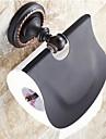"""Toalettpappershållare Oljegniden brons Väggmonterad 140 x 134 x 66mm (5.51 x5.27 x 2.59"""") Mässing / Keramisk Traditionell"""