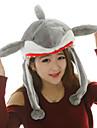 Kigurumi pyjamas Shark Hatt halloween Animal Sovplagg Grå Tryck Pälsimitation / Polyester Kigurumi Unisex Halloween / Karnival