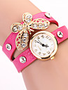 Koshi 2014 Kvinnors Bow Diamonade 2 Round Watch (Fuchsia)