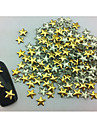 100PCS etoile Punk or Rivet Nail Art Decorations
