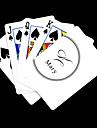 Jouer Blanc Cadeau style de signature de cartes de voeux