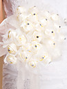 Round Shape Tulle And Rhinestone Bouquet(More Colors)