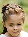 Flower Girl\'s Rhinestone/Alloy Headpiece - Wedding/Special Occasion Tiaras/Headbands