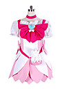 Inspire par PrettyCure Cure Blossom Manga Costumes de Cosplay Costumes Cosplay Mosaique Robe Pour Feminin