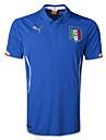 Bleu Jersey 2014 Monde Coupe du Monde de la coupe italie maison de jeu