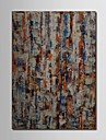 Hand Painted Oil Painting Abstract Woods with Stretched Frame