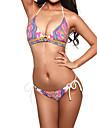 model de femei de imprimare indian sexy o linie căpăstru bikini costume de baie
