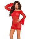 lingerie sexy occident cerises rouges y compris des femmes jupe t-arriere (rouge)
