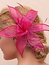 Women\'s/Flower Girl\'s Feather/Tulle Headpiece - Wedding/Special Occasion/Outdoor Flowers