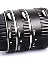 meike® af macro mise au point automatique d\'un anneau de tube d\'extension metallique fixe pour la camera