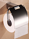 "Toilet Paper Holder Stainless Steel Wall Mounted W15.9cm xL9cm xH14cm(W6"" xL4"" xH6"") Stainless Steel Contemporary"