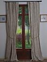 pays europeens neoclassiques deux panneaux vigne beige rideaux salon opaques