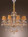 Lustre ,  Traditionnel/Classique Rustique Globe Retro Lanterne Plaque Fonctionnalite for Cristal VerreSalle de sejour Chambre a coucher