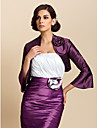 Gorgeous 3/4 Sleeve Taffeta Evening/Casual Wrap/Evening Jacket (More Colors) Bolero Shrug