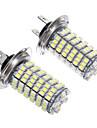 H7 6W 120x3528SMD LED pour ampoule de phare (2pcs)