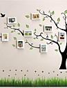 Cadre blanc Photo Set of 10 avec l\'autocollant de mur