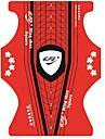 100 st Fjäril konst nagel manikyr Verktyg Akryl UV Gel Paper nagel Guide Extension Blanketter