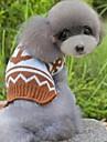 Katt Hund Tröjor Hundkläder Kaffe Rosa-blå