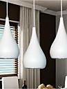 1w Lampe suspendue ,  Contemporain / Globe Peintures Fonctionnalite for LED MetalSalle a manger / Cuisine / Bureau/Bureau de maison /
