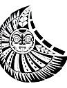 #(1) Tatueringsklistermärken Totemserier Mönster VattentätDam Tjej Tonåring Blixttatuering tillfälliga tatueringar