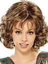 Noir perruque Perruques pour femmes Frise Perruques de Costume Perruques de Cosplay