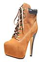 chaussures pour femmes bc bout rond bottes talon aiguille cheville