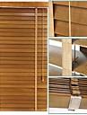 50mm tilleul stores venitiens solides avec du ruban Ladder profil haut