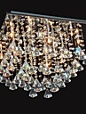 20w Chandelier ,  Traditional/Classic Chrome Feature for Crystal Metal Living Room / Dining Room