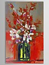 IARTS®Hand Painted Oil Painting Still Life  Vase Flower with Stretched