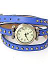 oser u pu analogique quartz la montre bracelet des femmes