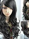 les cheveux longs boucles nouveau role noire jouant la mode femmes perruques