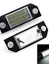 bil nummer licensskyltlyktor vita 24 LED-lampor glödlampor för ford focus 2 c-max
