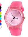 Women's Watch Simple Style Candy Color Silicone Band Cool Watches Unique Watches