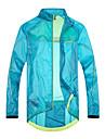SANTIC® Veste de Cyclisme Homme Manches longues Velo Etanche / Respirable / Sechage rapide / Pare-vent / Vestimentaire / Ecran Solaire