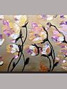 peinture a l\'huile peinte a la fleur de couteau a la main avec cadre etire pret a accrocher