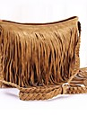 Women\'s Fringe Tassel Messenger Crossbody Shoulder Bag