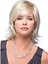 attraente oro separazione laterale kanekalon delle donne breve parrucca
