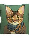 modern stilig katt bomull / linne dekorativa örngott