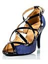 kvinnors satin övre spänne ballroom latin skor sandals (fler färger)