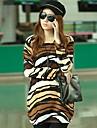 JOYCE®Women's Fashion Personality Tiger Stripes Loose Knit Sweaters