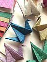 flash pulver papercranes origami material (12 st / påse)